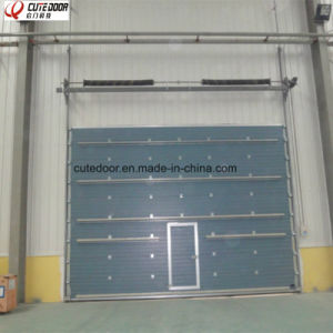High Speed China Made Residential Sectional Electric Garage Door pictures & photos