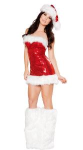 Women Sexy Santa Costume