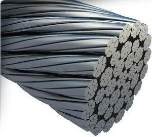 Ungalvanized and Galvanized No-Rotating Steel Wire Rope with Many Layers pictures & photos