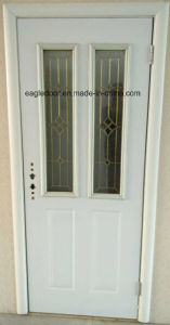 Two Glass American Steel Door (EF-A007) pictures & photos