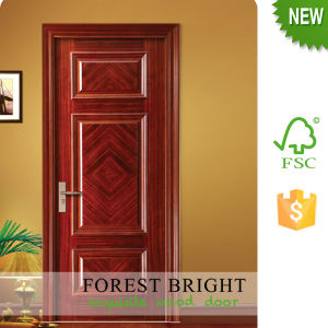 Good Quality Craftsman Door Carving Veneered Main Door Design pictures & photos