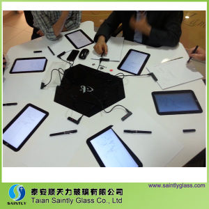 3mm Low Iron Tempered Touch Panel Glass/Touch Screen Glass pictures & photos