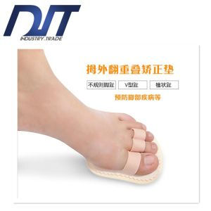 Anti-Skid Anti-Wear Relieve Pain Correction Pad Lady Socks pictures & photos