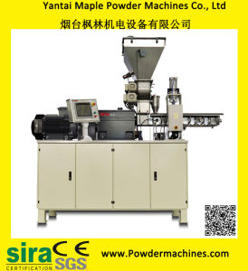 Two-Layer Gear Box Twin-Screw Extrusion Machine/Extruder for Powder Coating pictures & photos