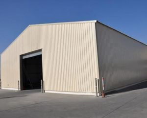 Prefab Large Span Light Steel Structure Warehouse pictures & photos