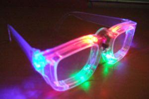 LED Glasses, Glasses, Skate Sunglasses (99009B)
