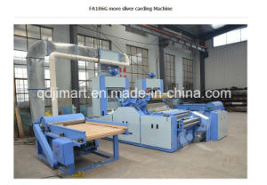 Professional Polyester Sheep Wool Cotton Carding Machine pictures & photos