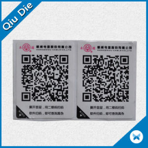 Qr Code Paper Stickers for Anti-Fake pictures & photos