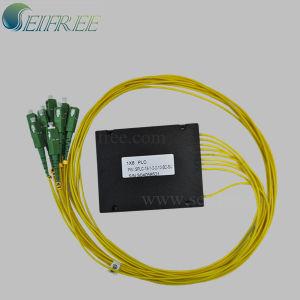 1X8 Sc/APC Fiber Optical PLC Splitter with Plastic Box (Planar Lightwave Circuits) pictures & photos