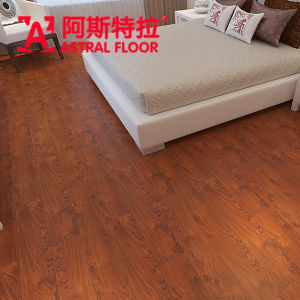 AC3&AC4 V-Groove&U-Groove Silk Surface Laminate Flooring (AD1123) pictures & photos