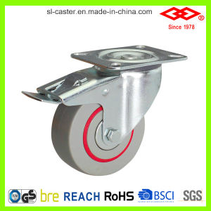 "4"" Bolt Hole with Brake European Type Industrial Caster (G102-51D100X33S) pictures & photos"