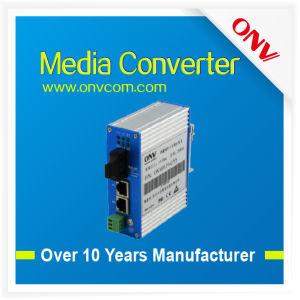 10/100m Multimode Dual Fiber Industrial Media Converter in Good Performance