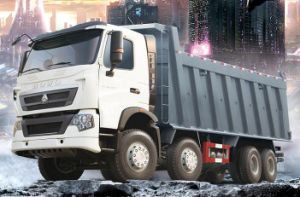 HOWO T7h 8*4 Dump Truck of Man Technology pictures & photos