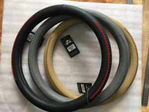 Fashion New Design OEM PVC Car Steering Wheel Covers pictures & photos