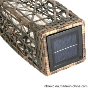 Solar Garden Outdoor Rattan Landscape Light for Pathway Outdoor (RS601) pictures & photos