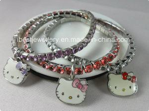 Fashion Jewelry-Elastic Hello Kitty Bracelet pictures & photos