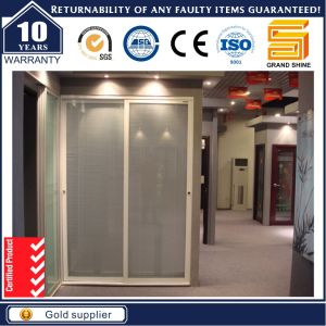Popular Double Sided Aluminium Wardrobe & Partition Sliding Door pictures & photos