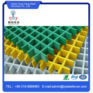 High Strength Anti-Slip GRP Fiberglass FRP Molded FRP Grating pictures & photos