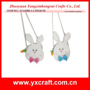 Easter Decoration (ZY13S802-1-2 29X16CM) Easter Merchandise Easter Bunny Egg Bag pictures & photos