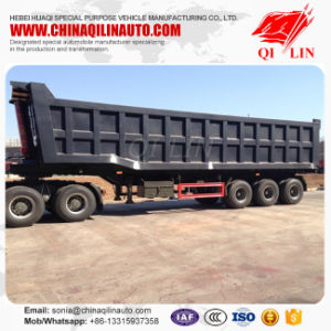 30cbm 50ton Payload Dump Tipper Semi Truck Trailer pictures & photos