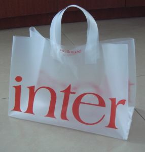 HDPE Stand up Printed Carrier Shopping Bags for Flowers (FLL-8365) pictures & photos