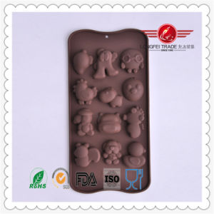 Funny Shape Silicone Cake Mould pictures & photos