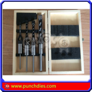 Woodworking Square Auger Bit Set (6/10/13/16mm)