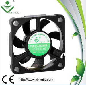 35*35*07mm Plastic DC Fan Small Size Mini Fan Made in China pictures & photos