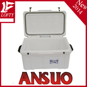 Huge Space PU Insulation Cooler Box with Handle 75L