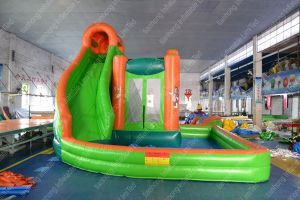 Inflatable Slide Inflatable Pool Slide. Pool Slide. Water Park pictures & photos
