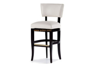 (CL-4406) Classic Hotel Restaurant Club Furniture Wooden High Barstool Chair pictures & photos