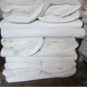 White Grey Rayon Fabric for Printing Garments pictures & photos