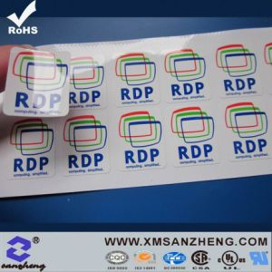 Customized Label Sticker Printing (SZ3133) pictures & photos