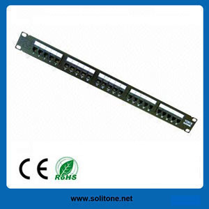 25-Port Voice Patch Panel pictures & photos