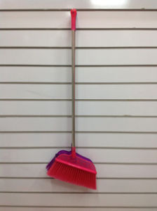 Colorful and Good Quality Plastic Broom (SQ-126) pictures & photos