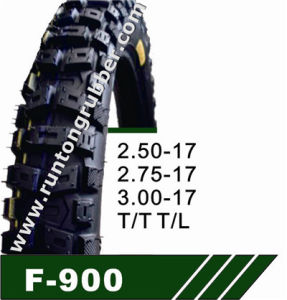 China Professional Supplier Motorcycle Tire (2.25-17, 2.50-17) pictures & photos