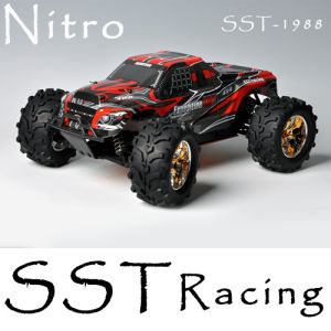 Oversize 1/10 Scale Nitro Power off-Road Monster Truck (SST-1988)