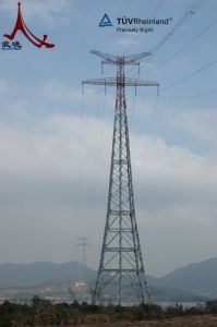 Steel Power Transmission Line Steel Tower pictures & photos