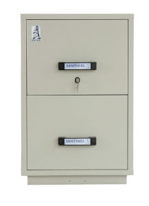 Fireproof Vertical Cabinets, UL Certificated Cabinets, Fire Resistant File Cabinet (UL824FRD-II Series) pictures & photos