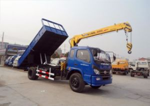 5 Ton Tipper Truck Crane for Sale pictures & photos