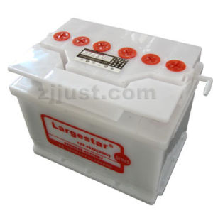 DIN Standard Dry Lead Acid Car Battery (DIN45 12V 45AH) pictures & photos