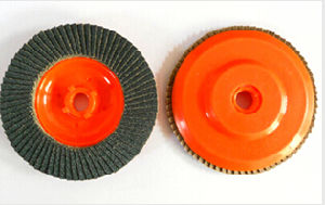 """Nylon Backing Pad Flap Disc with 5/8-11"""" and M14 Thread pictures & photos"""
