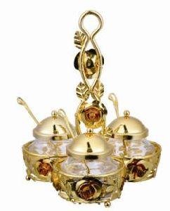 Hotel Restaurant Glass Castor Cindiment Pot Seasoning Pot pictures & photos