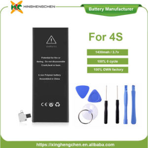 Replacement Mobile Phone Battery for iPhone 4S 1430mAh Cell Phone Battery pictures & photos