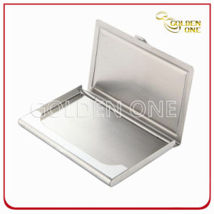 Fancy Design Domed Sticker Stainless Steel Business Card Holder pictures & photos