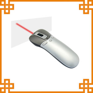 Air Mouse Presenter with Red Laser Pointer and Mini Receiver