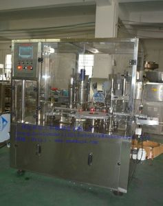 High-Performance Automatic Powder Filling Machine with Capping pictures & photos