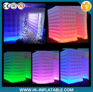 2016 Remantic Inflatable Wedding Photo Booth with LED Changeable LED Light