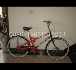 "26"" Steel Frame Bicycle for Women Bike (HC-LD-2698) pictures & photos"