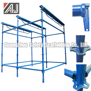 Africa Wedge Lock Scaffold System, Guangzhou Manufacturer pictures & photos